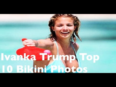 aaee19acea Hot Ivanka Trump Top 10 Bikini Photos - YouTube