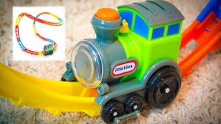 Little Tikes Tumble Train Toy Review by Kinder Playtime
