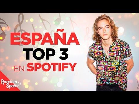 Eurovision 2017 | España TOP 3 en Spotify