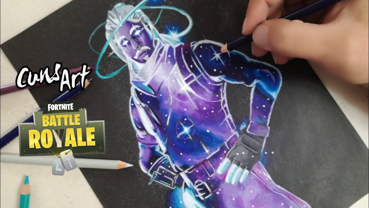 como dibujar a galaxy skin fortnite how to draw galaxy skin - como dibujar fortnite skins