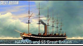 """Sinking Simulator plays Vehicle Simulator """"HAPANG and SS Great Britain"""""""