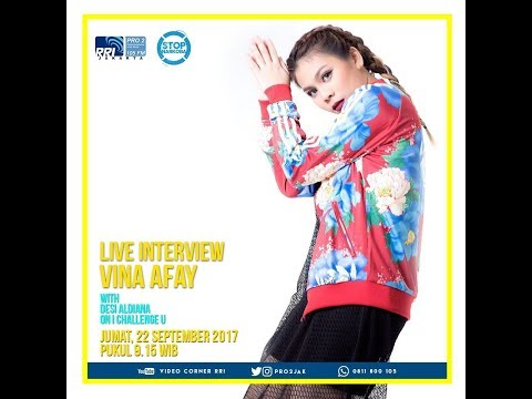 Vina Afay - ICU Pro2 FM RRI Jakarta (Live Video Corner RRI) Reupload