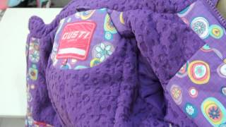 GUSTI (Густи) зимний комплект для девочки GWG 4292 PANSY