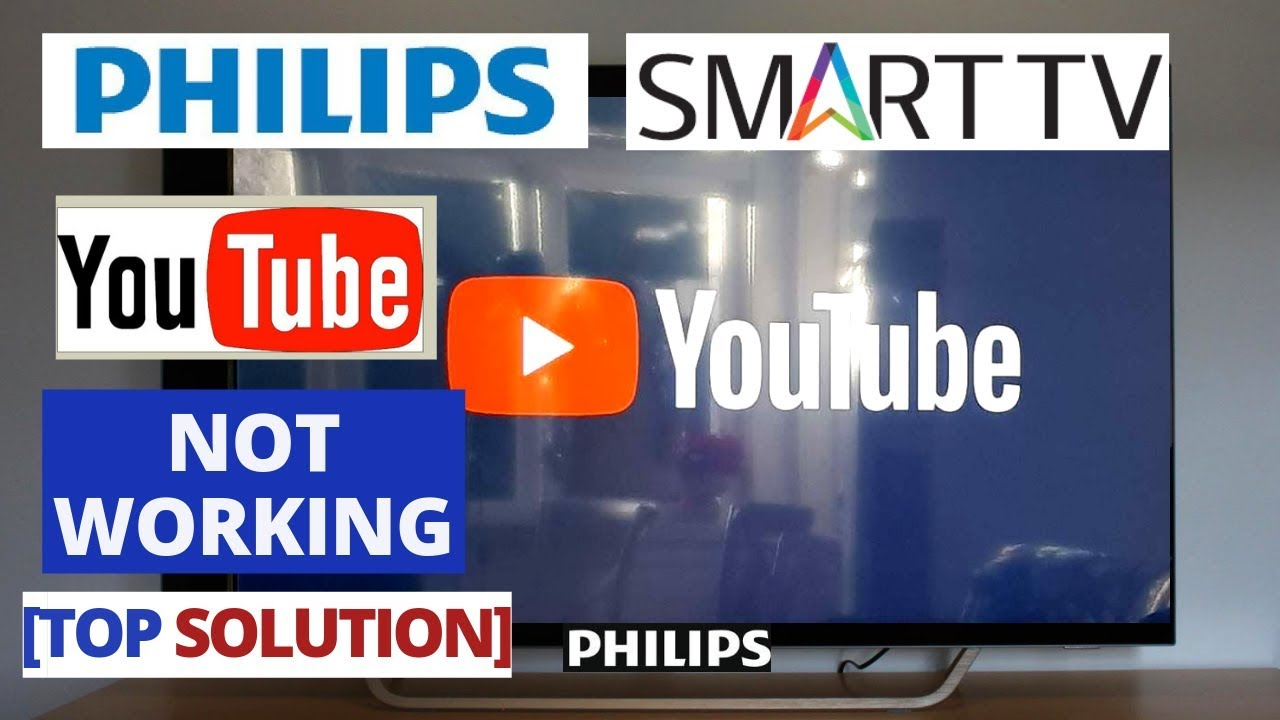 How to Fix YouTube Not Working on PHILIPS Smart TV || YouTube PHILIPS TV  Problems & Fixes