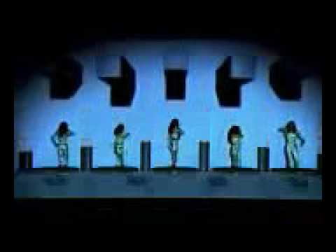 Awesome video projection dance routine from Thailands Got Talent 2016 - 2017