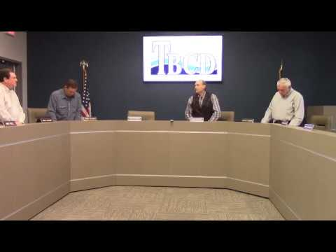 Trinity Bay Conservation District Meeting 2/14/2018