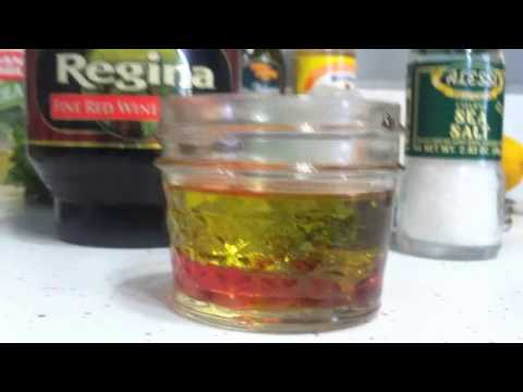 How to Make Vinaigrette--Salad Dressing Recipe