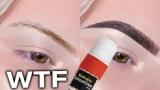 GLUE STICK IN M¥ BROWS?!! ⋆ Here is what happened
