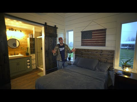 SHED TO HOUSE | Finished Master Bedroom & Bathroom