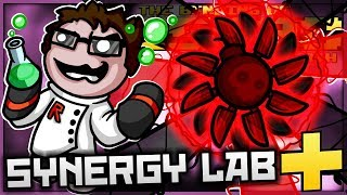 The Binding of Isaac: Afterbirth+ - Synergy Lab: ULTIMATE LIGHTNING KNIFE-BOMB-STORM! (GAME BREAKS)