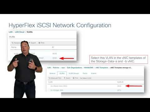 HyperFlex iSCSI Configuration