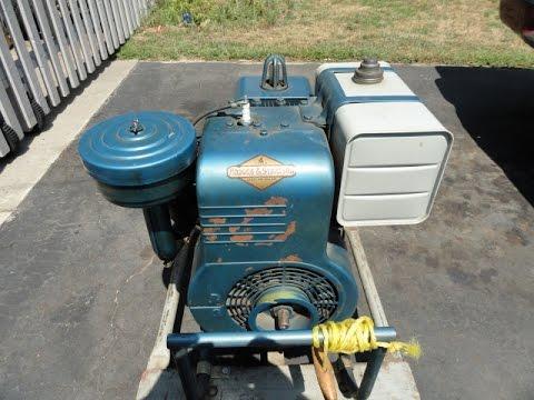 1958 Winco Generator Briggs Model 23a