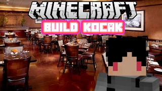 Minecraft Indonesia - Build Kocak (16) - Restaurant!