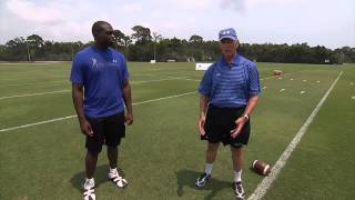 Football Drills -- Defensive Line Fundamentals Series by IMG Academy Football (1 of 4)