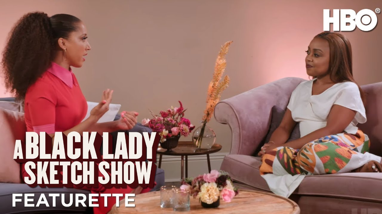A Black Lady Sketch Show: Meet the Character w/ Robin Thede & Quinta Brunson Part 2 Featurette | HBO