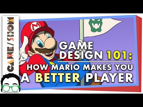 Game Design 101: How Mario Makes You a Better Player | Game/Show | PBS Digital Studios