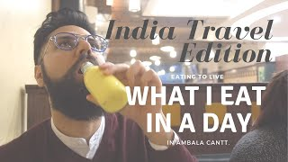 What I Eat in a Day - INDIA TRAVEL VLOG - Eating to Live