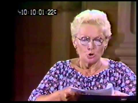 Elisabeth Schwarzkopf Masterclass (1980) Brian Bannatyne-Scott Part 1