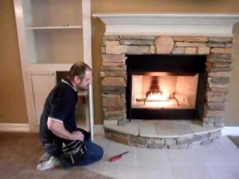 Home Inspection Houston Fireplace Gas Flames.AVI - YouTube