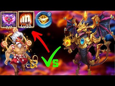 10/10 Heavy Blow   Storm Eater Makes Zephy Go POOF   Castle Clash