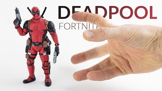 Making DEADPOOL with Clay – (Marvel X Fortnite Battle Royale)
