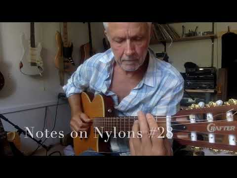 Notes on Nylons 28, Strollin&39; with a Fender Mustang Micro.