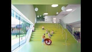Лестница-трибуна в ArchiCad. Сборно-монолитное каркасное здание в ArchiCad.