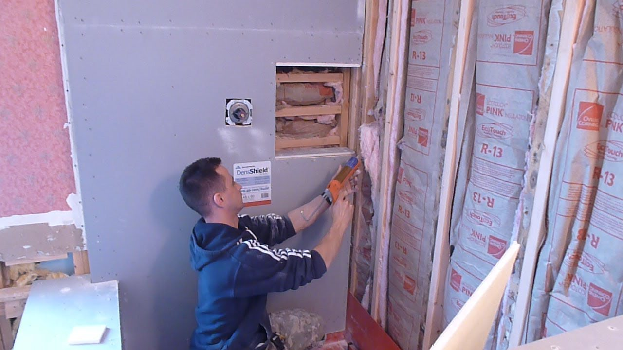 how to install shower surround tile backer board part 2 durock or cement board