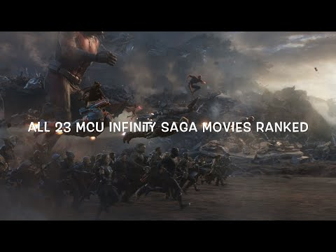 All 23 MCU Movies Ranked