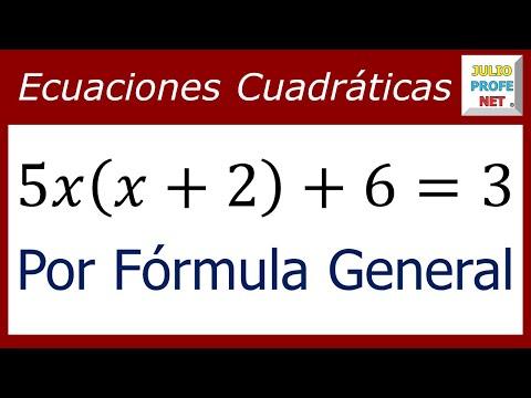 Resolver ecuaciones cuadráticas en la calculadora