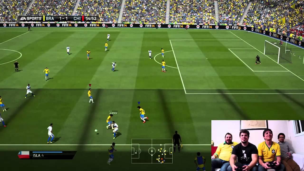 Papricast com Jogos e ... Copa do Mundo /// Brasil x Chile