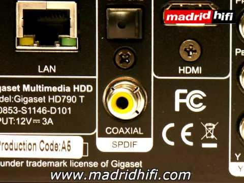 Disco duro multimedia Full HD grabador con TDT HD ...