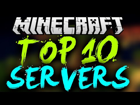 TOP 10 MINECRAFT SERVERS! *2016* (Minecraft 1.8/1.8.9/1.9) BEST MINECRAFT SERVERS