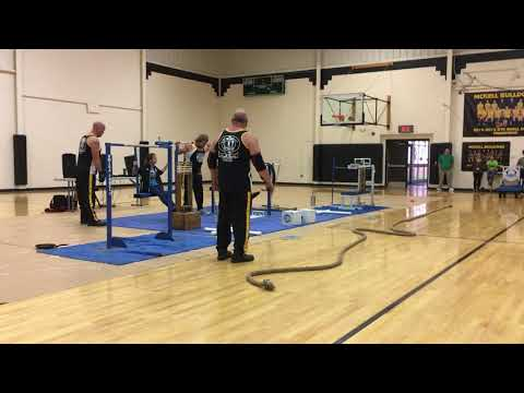 Omega Force at Mckell Middle School, South Shore KY, Jim Compton squat lift