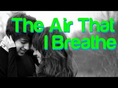 The Air That I Breathe -  The Hollies (lyrics)