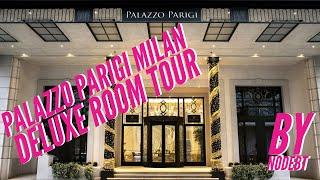 Palazzo Parigi Hotel Milan Deluxe Room Tour