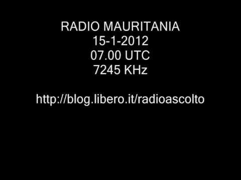 RADIO MAURITANIA 7245 KHz