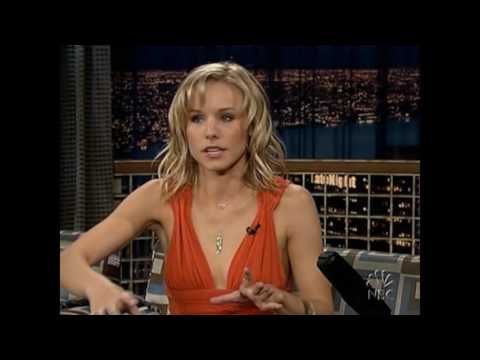 "Kristen Bell on ""Late Night with Conan O'Brien"" & Duran Duran (Live) - 4/12/05"