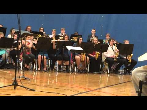 Sandwich Middle School Jazz Band, 2-26-2015: Joshua Fit the Battle of Jericho