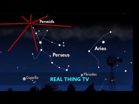 Perseids meteor shower 2017