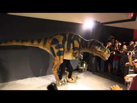 Dinosaur prank - Tyrannosaurus Rex
