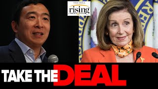 Krystal and Saagar: Andrew Yang SMEARED As Sexist For Telling Pelosi To Take Stimulus Deal