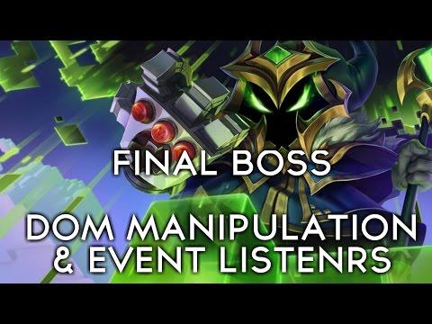 FINAL BOSS: DOM Manipulation & Event Listeners   Simple Javascript Training Tutorial