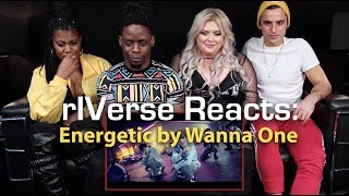 RIVerse Reacts: Energetic By Wanna One - M/V Reaction