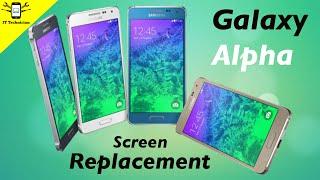 Samsung Galaxy Alpha screen replacement