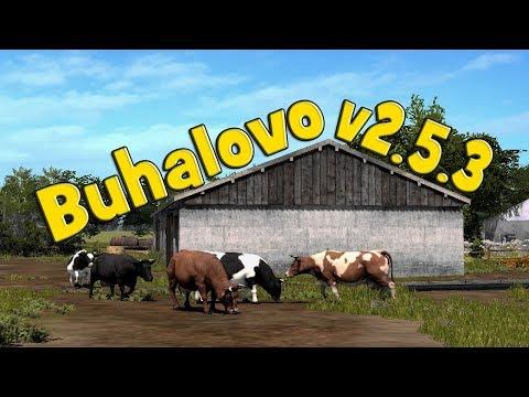 18+●Карта Buhalovo V2.5.3●Farming Simulator 17●Лето.
