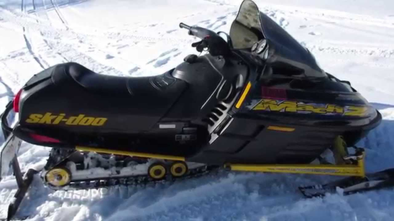 ski doo mach z 800