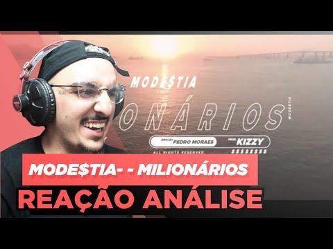 MODE$TIA  MILIONÁRIOS REAÇÃO ANÁLISE