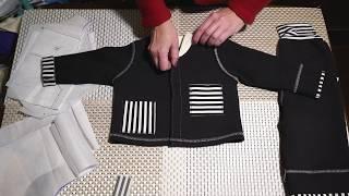 Обзор детского костюмчика. Где взять выкройку и как откорректировать.