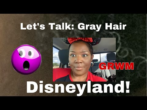 LETS TALK: Gray Hair! I Almost Brushed My Hair To The White Meat!